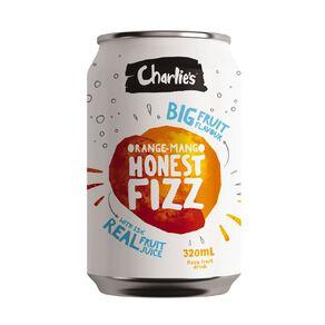 Charlie's Honest Fizz Orange/Mango 12 Pack 320ml