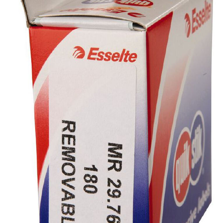 Quik Stik Labels Mr2976 29mm x 76mm 180 Pack White, , hi-res