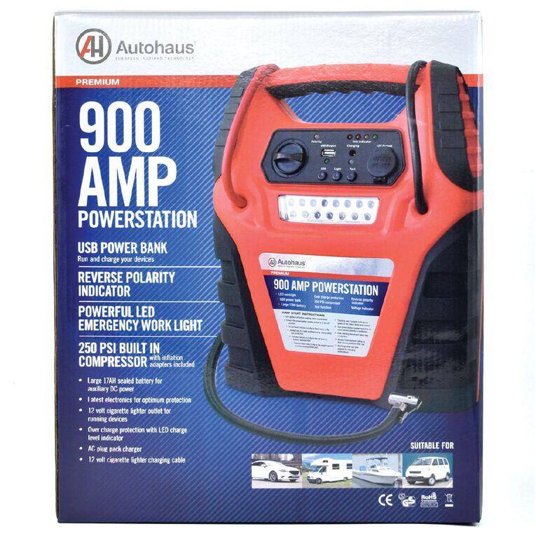 Autohaus Powerstation 900 Amp 17Ah With Compressor, , hi-res
