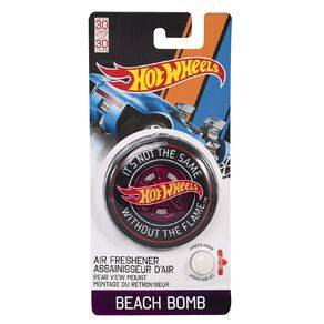 Hot Wheels 3D Car Air Freshener Beach Bomb Scent