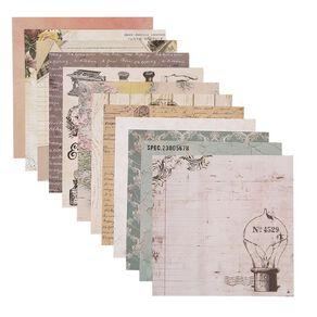 Uniti Designer Paper 12x12in 12 Sheets Vintage