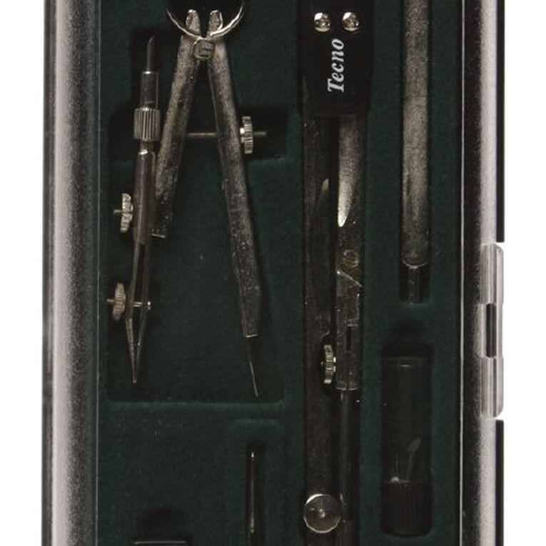 Faber-Castell Compass Set Techno 74 Black, , hi-res