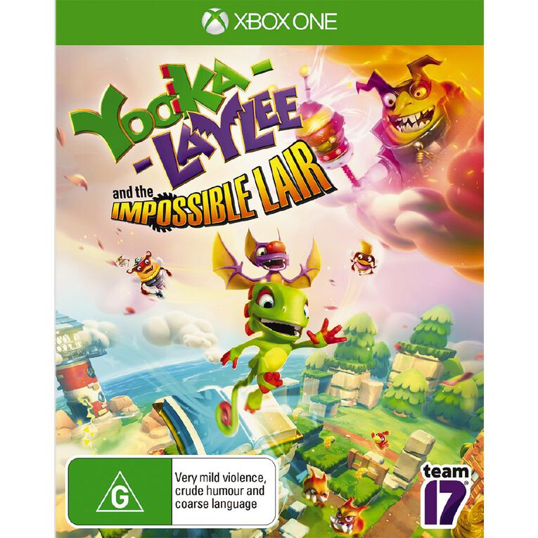 XboxOne Yooka-Laylee and the Impossible Lair, , hi-res