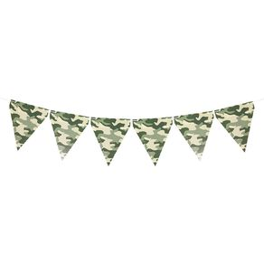 Party Inc Camo Bunting 5m