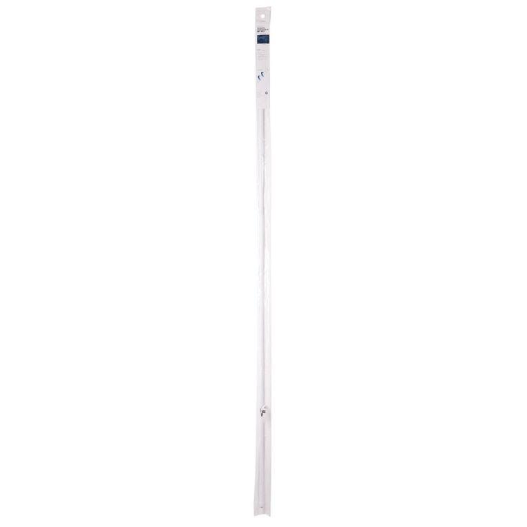 Living & Co Tension Rod 10mm-13mm Diameter White 200-250cm, White, hi-res