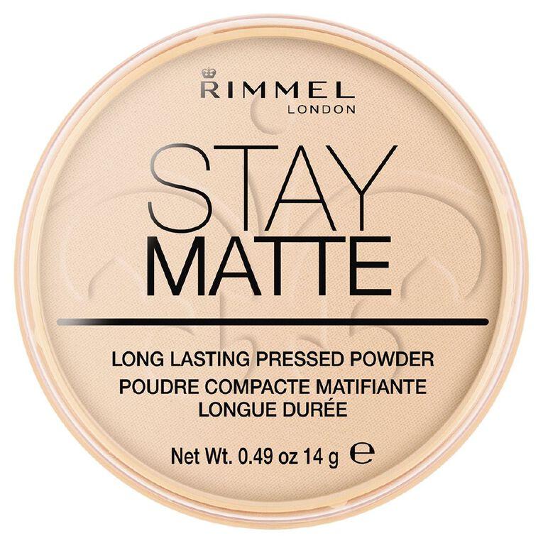 Rimmel Stay Matte Pressed Powder Peach Glow, , hi-res