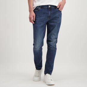 Garage Men's Abraised Skinny Jean