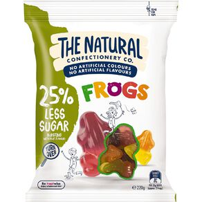 The Natural Confectionery Co. Frogs Reduced Sugar 220g