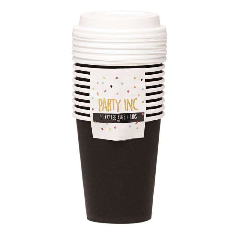 Party Inc Coffee Cups 10 Pack, , hi-res