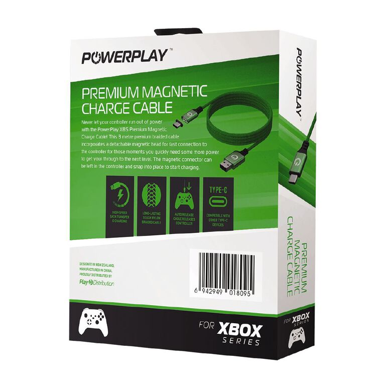 PowerPlay XS Premium Magnetic Charge Cable Green, , hi-res