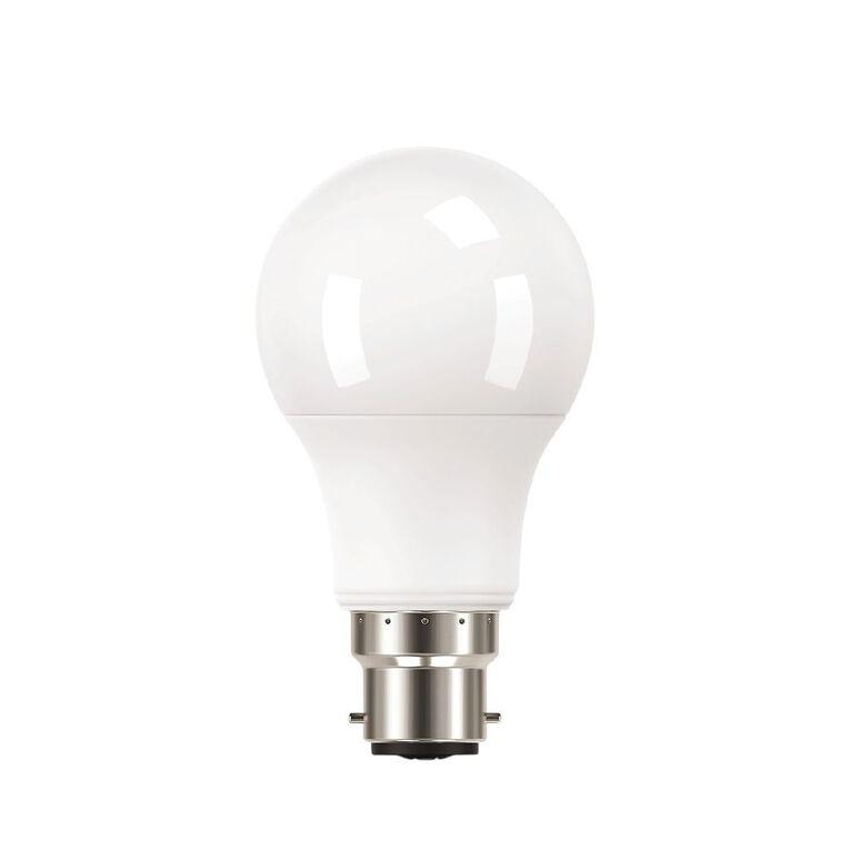 General Electric B22 LED Classic Light Bulb 8.2W Warm White 3 Pack, , hi-res