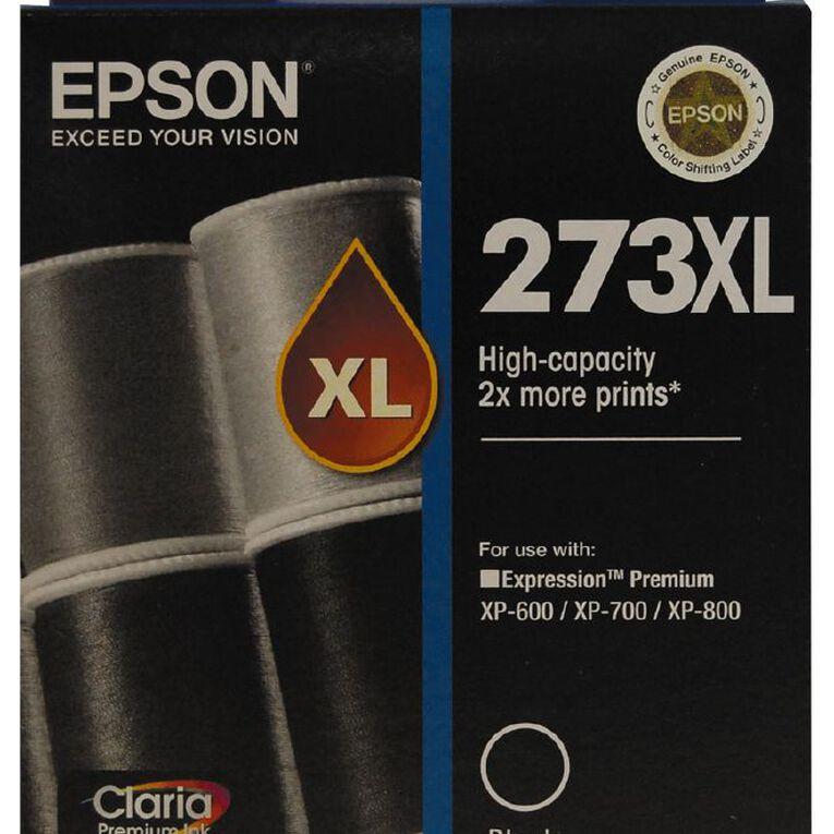Epson Ink 273XL Black (500 Pages), , hi-res