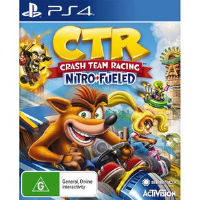 PS4 Crash Team Racing