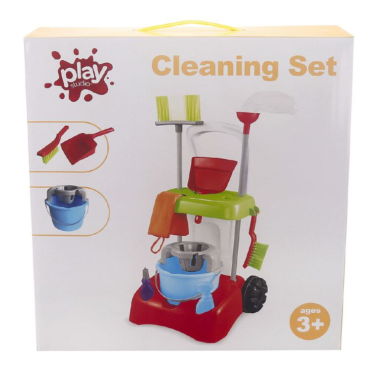 Play Studio Cleaning Set 10 Pieces, , hi-res
