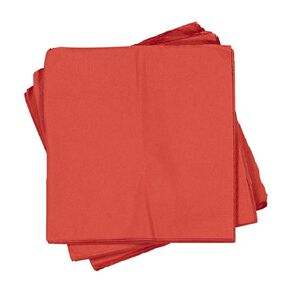 Party Inc Napkins 30cm Red 50 Pack