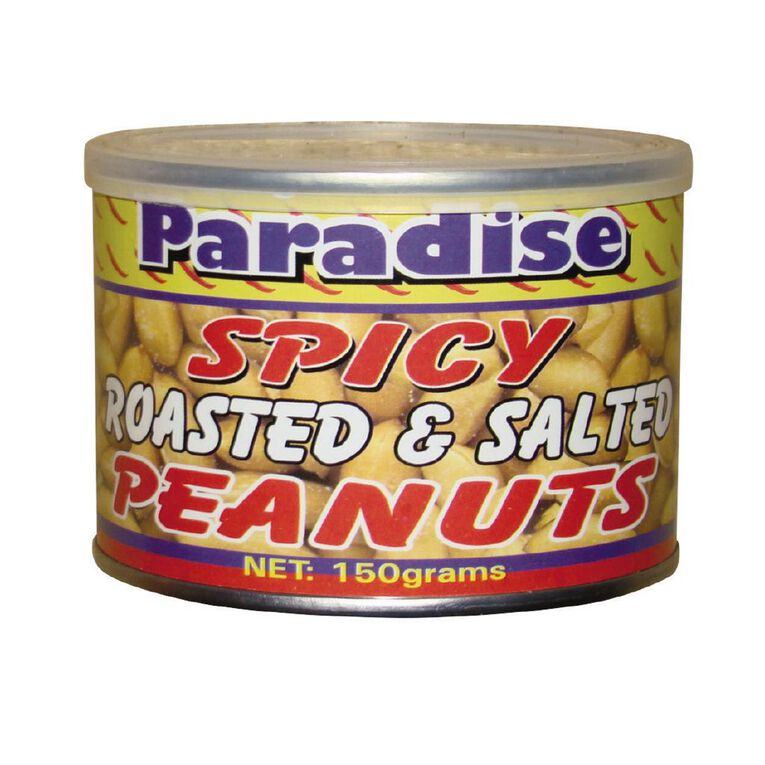 Paradise Spicy Roasted Peanuts 150g, , hi-res