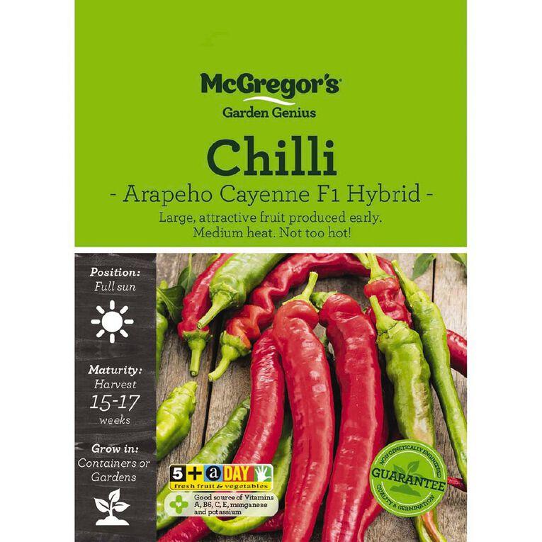 McGregor's Chilli Arapeho Cayene Seed, , hi-res