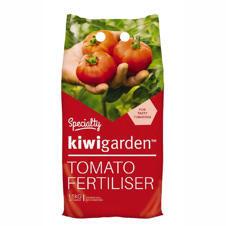 Kiwi Garden Specialty Tomato Fertiliser 1.5kg, , hi-res