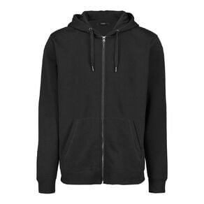 H&H Men's Zip Thru Hooded Sweatshirt