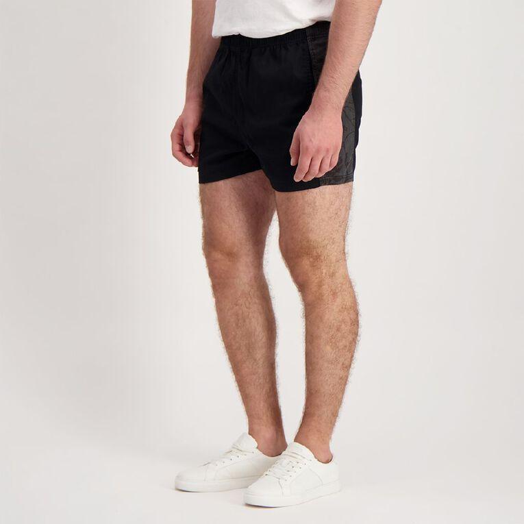 Back Country Men's Rugger Shorts, Black, hi-res image number null