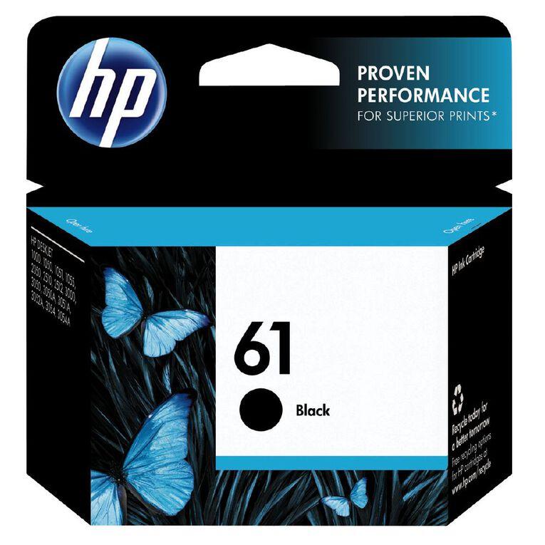 HP Ink 61 Black (190 Pages), , hi-res