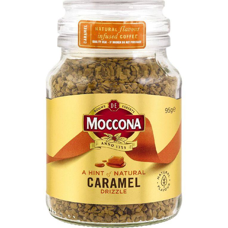 Moccona Flavour Infused Freeze Dried Caramel Jar 95g, , hi-res