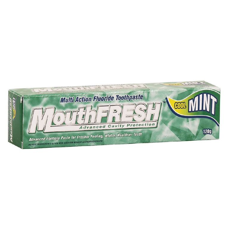 MouthFresh Toothpaste Cool Mint 120g, , hi-res image number null