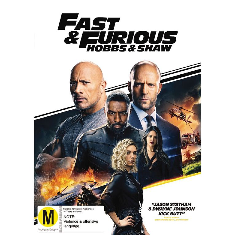 Fast & Furious Presents Hobbs And Shaw DVD 1Disc, , hi-res