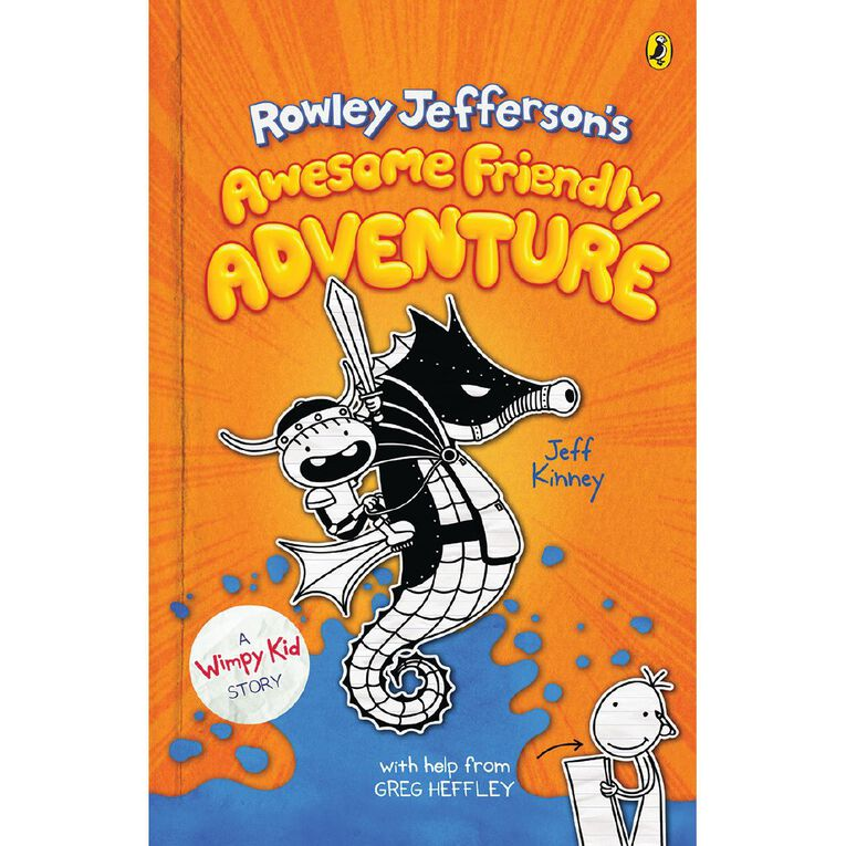 Diary of an Awesome Friendly Kid #2 by Jeff Kinney, , hi-res