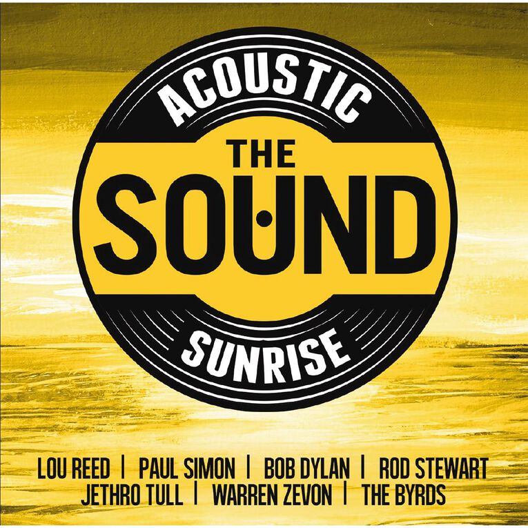 Acoustic Sunrise CD by Various Artists 2Disc, , hi-res