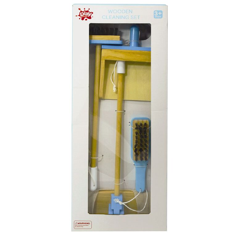 Play Studio Wooden Cleaning Set, , hi-res