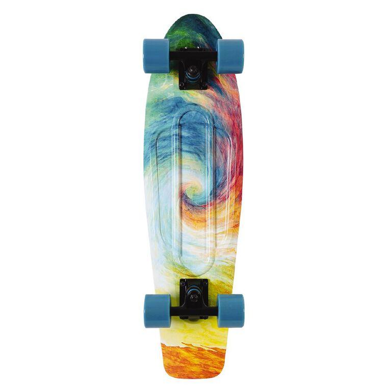 Invert 27 Retro Printed Skateboard, , hi-res