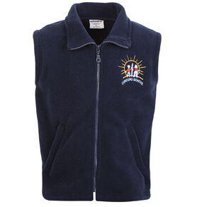 Schooltex Concord School Polar Fleece Vest with Embroidery