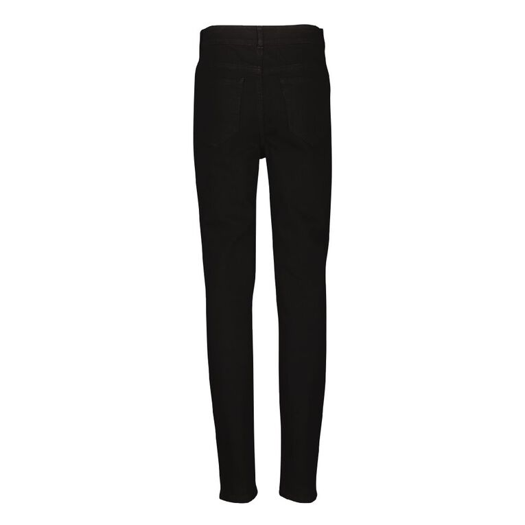 Young Original Slim Stretch Jeans, Black, hi-res