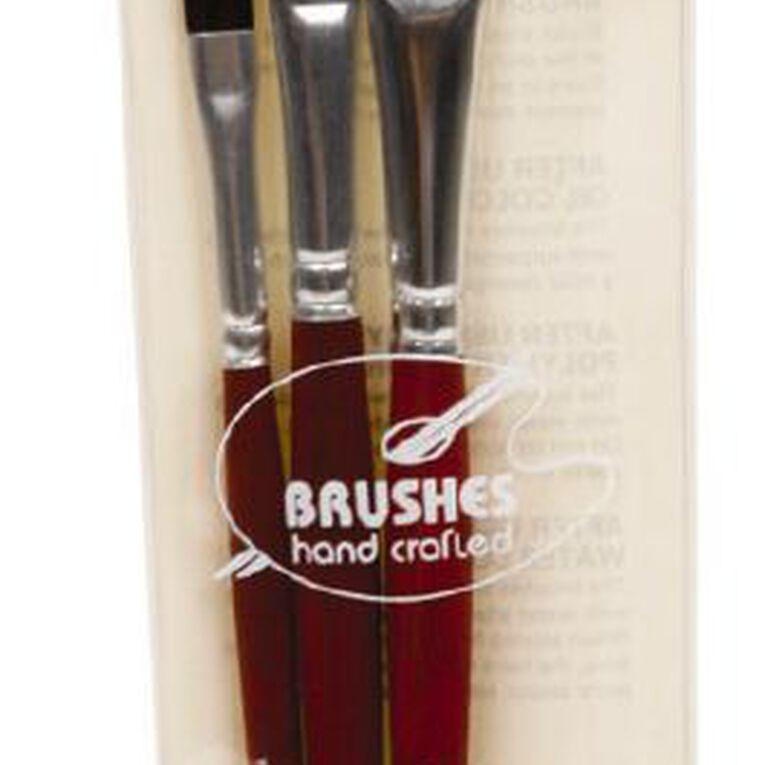 DAS Brush Set Das Ox Hair Flat 3 Pack, , hi-res
