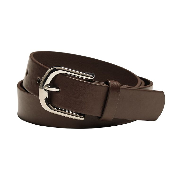 H&H Women's Jeans New Belt, Brown, hi-res