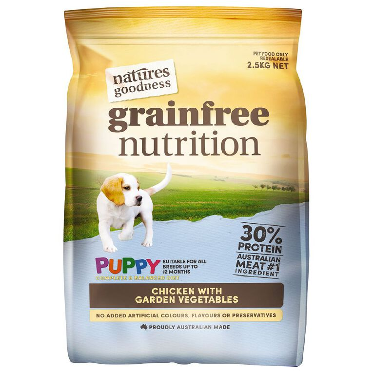 Natures Goodness Grain Free Puppy Chicken Garden Vege 2.5kg, , hi-res
