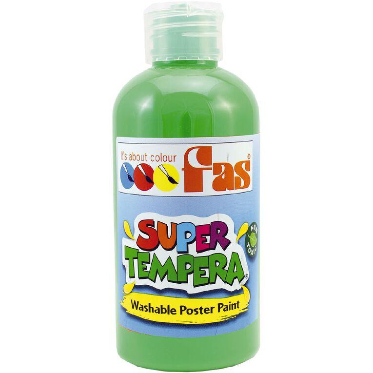 FAS Paint Super Tempera 250ml Leaf Green, , hi-res