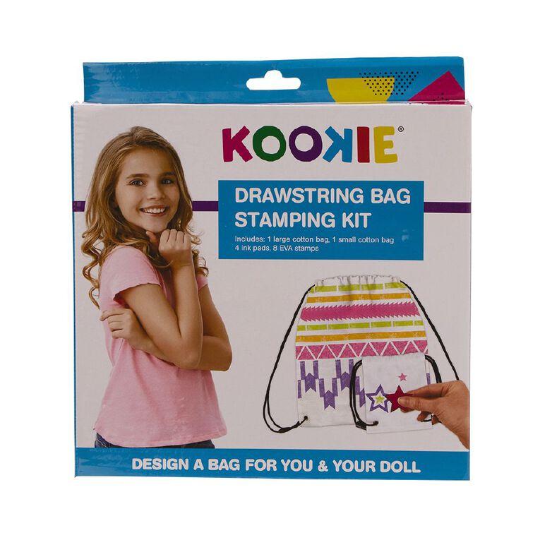 Kookie DIY Colouring Bag Set, , hi-res