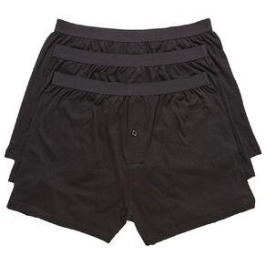 H&H Men's Loose Knit Boxers 3 Pack