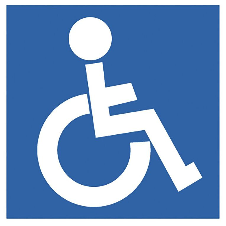 APLI Self Adhesive Disabled Blue, , hi-res