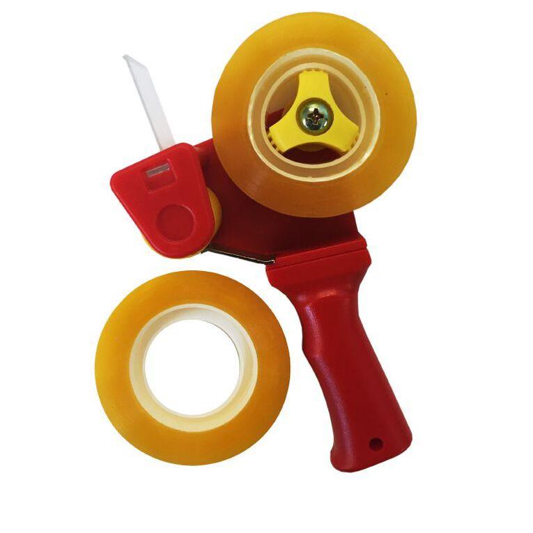 Pomona Mini Tape Dispenser Pistol Grip Red, , hi-res
