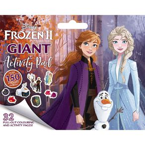 Disney Frozen #2 Giant Activity Pad