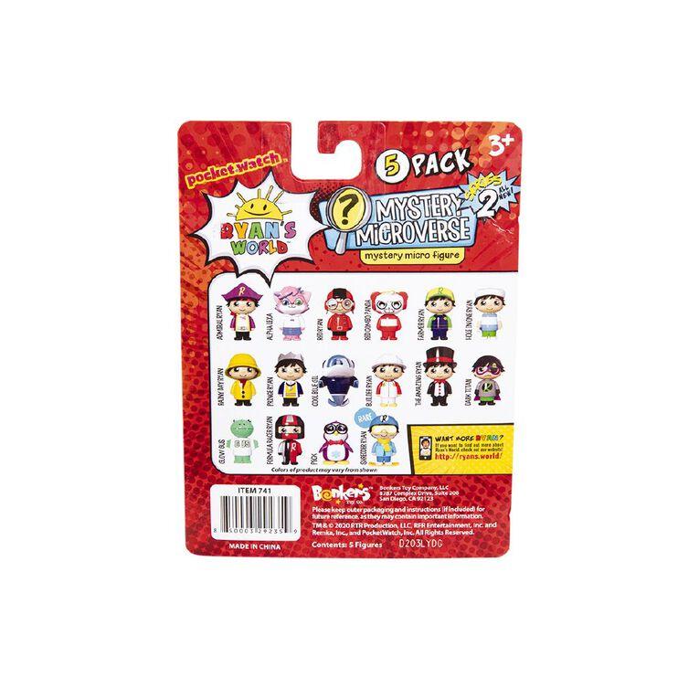 Ryan's World Micro 5pk Figures Series 3, , hi-res