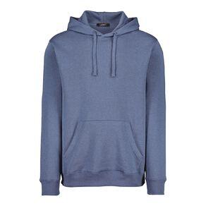 H&H Men's Plain Hooded Sweatshirt