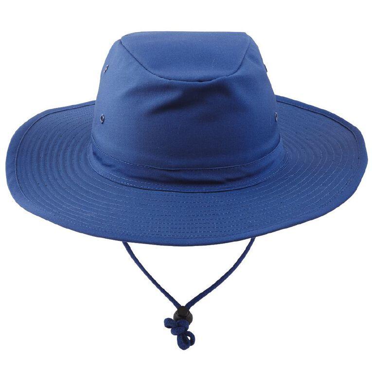 Schooltex Aussie Style Hat, Royal, hi-res