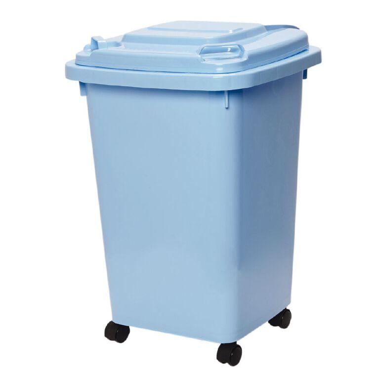 Living & Co Wheelie Bin Blue 60L, , hi-res