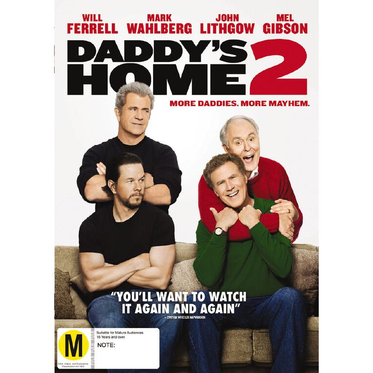 Daddys Home 2 DVD 1Disc, , hi-res