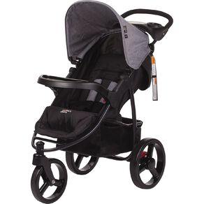 Mother's Choice 3 Wheel Scout Stroller Grey Linen