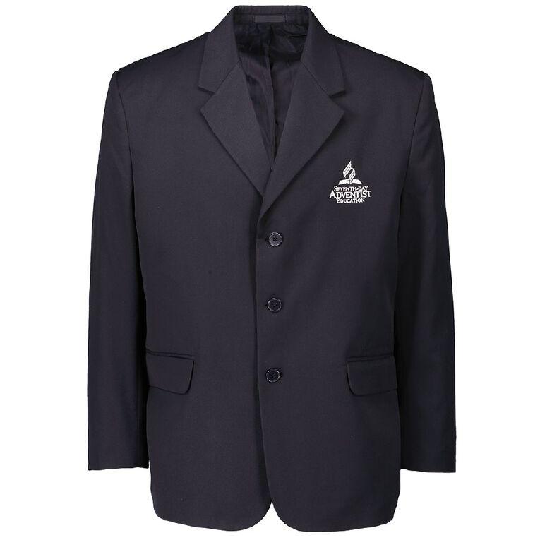 Schooltex SDA Blazer with Embroidery, Navy, hi-res